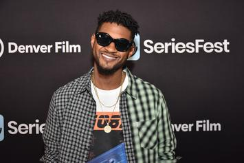Usher Sparks Dating Rumours With Mystery Boo After Hollywood Bowl Kiss