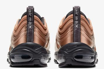 """Nike Air Max 97 """"Bronze"""" Officially Unveiled: Detailed Photos & Release Info"""