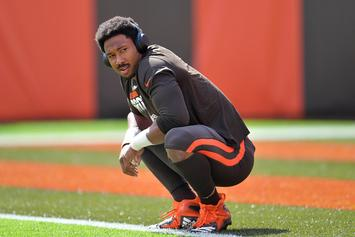"""Browns' Myles Garrett Explains How He Was Punched In The Face By A """"Fan"""""""