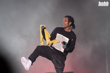 A$AP Rocky Drowning In Bras At Rolling Loud Is A Mood
