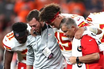 Patrick Mahomes Reacts To His Knee Injury Following TNF Win