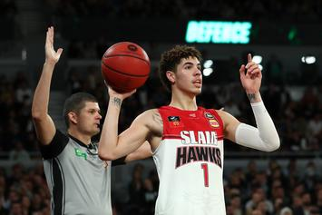 LaMelo Ball Teases Fans With Exciting And Slick No-Look Pass: Watch