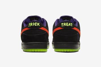"""Nike Announces """"Night Of Mischief"""" Dunks To Release On Halloween"""