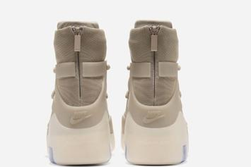 "Nike Air Fear Of God 1 ""Oatmeal"" Coming Soon, Official Images Unveiled"