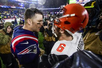 Tom Brady Reacts To Odell Beckham Jr.'s Generous Post-Game Gift