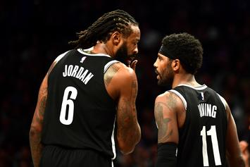 """DeAndre Jordan Sarcastically Disses Kyrie Irving For His """"Mood Swings"""""""
