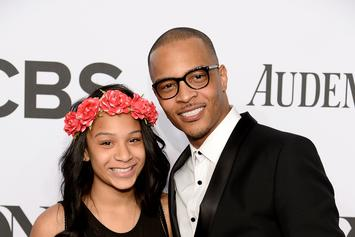 "T.I.'s Daughter Deyjah Likes Several Tweets Trashing Her Dad For ""Hymen"" Comment"