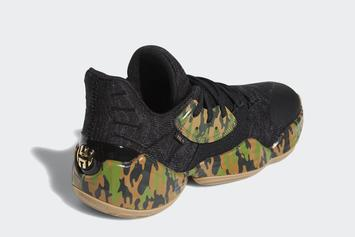 """Adidas Harden Vol. 4 """"Camo"""" Release Date Revealed: Official Photos"""