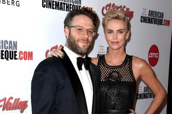 Seth Rogen & Seth MacFarlane Roast Charlize Theron At Award Ceremony