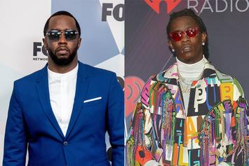 Diddy Jokes He Will Teach Grandkids Young Thug Was First Man On The Moon