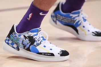 Lakers' Danny Green Honors Nipsey Hussle With Special Puma Sneakers