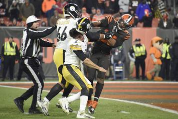 Myles Garrett Violently Attacks Mason Rudolph With A Helmet, NFL Reacts