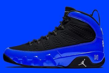 "Air Jordan 9 ""Racer Blue"" Coming Soon With 3M Details: In-Hand Photos"