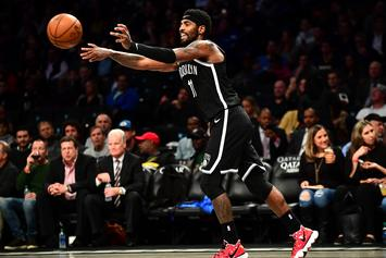 Kyrie Irving Blesses Young Kids With $100 Bills In Chicago: Watch