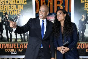 """Cory Booker Entertains Marriage Plans With Rosario Dawson On """"Wendy Williams"""""""