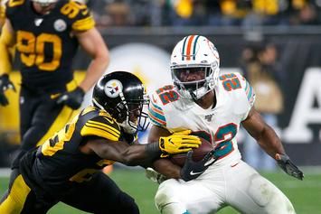 Dolphins' Mark Walton Accused Of Assaulting Pregnant Woman: Report