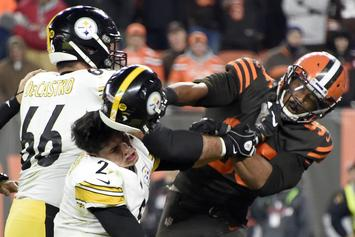 Myles Garrett Claims Mason Rudolph Used Racial Slur Prior To Fight