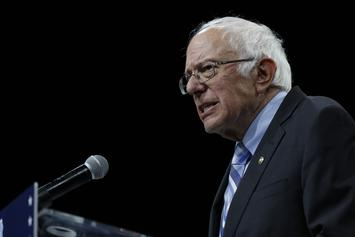 Bernie Sanders Walks Out To Young Thug Song At Campaign Rally: Watch