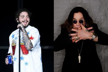 Post Malone Brings Out Ozzy Osbourne For LA Performance