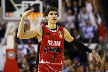 LaMelo Ball Breaks Impressive NBL Record Ahead Of NBA Draft: Watch