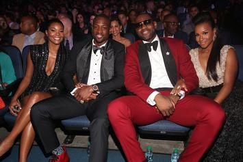 LeBron James Praises D-Wade & Gabrielle Union For Bronny Support