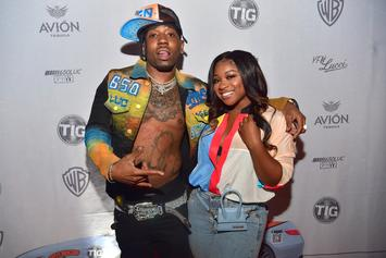 Reginae Carter Receives 5K Roses From YFN Lucci For 21st Birthday