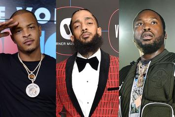 T.I. & Meek Mill Defend Nipsey Hussle's Legend Status After Wack 100's Hot Take