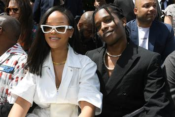 Rihanna & A$AP Rocky's Fashion Awards Photos Spark Power Couple Fantasies