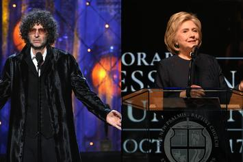 Howard Stern Questions Hillary Clinton Over Rumored Lesbian Affair