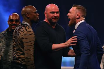 Dana White Teases Floyd Mayweather's New UFC Deal: Watch
