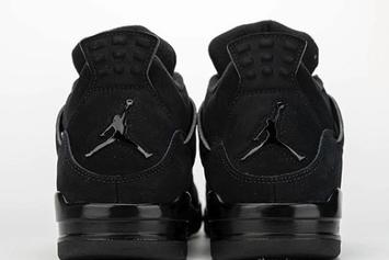 "Air Jordan 4 ""Black Cat"" Rumored For Next Year: Detailed Images"