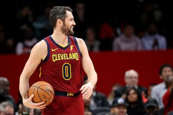 Report: Cavs Now Open To Trading Kevin Love