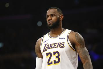LeBron James Hilariously Told To Watch His Mouth By Motherly Fan