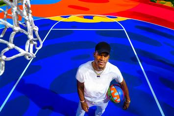 "Jimmy Butler Helps Unveil Gorgeous & Colorful ""Royal Court"" In Miami"