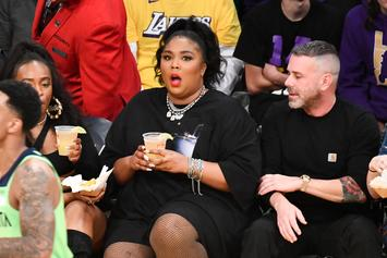 Lizzo's Controversial Lakers Outfit Was Inspired By This Rihanna Look