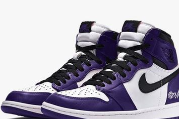 "Air Jordan 1 High OG ""Court Purple"" Release Date Revealed: First Look"