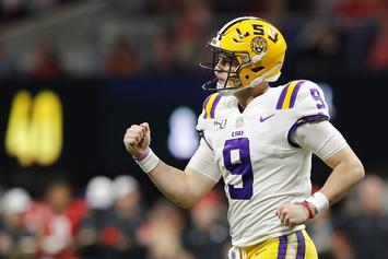 LSU QB Joe Burrow Earns The Heisman Trophy