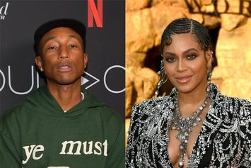 Beyoncé & Pharrell Shortlisted For Oscars' Best Original Song