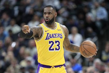 LeBron James Reacts To Lakers Loss With A Bold Promise