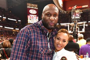 """Lamar Odom Thirsts Over Sabrina Parr's Topless Photo: """"100% Natural"""""""