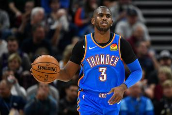 Chris Paul Surprises Thunder Teammates With Custom Christmas Gifts