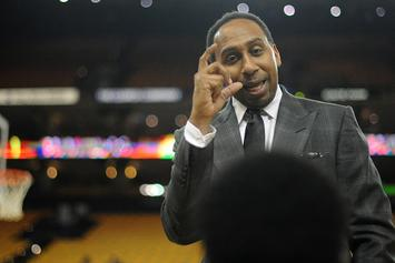 Stephen A. Smith Passionately Defends LeBron In Wake Of KG's Comments