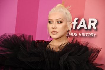 Christina Aguilera Handles Nip Slip At Birthday Party Like A Champ