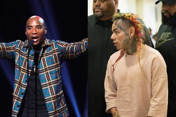 "Charlamagne Tha God Says His 6ix9ine Bet Was ""All Hyperbole"""