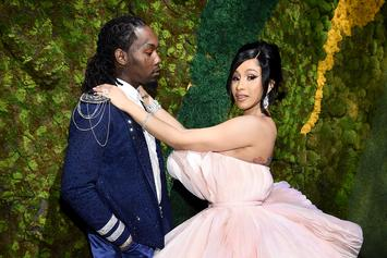 Cardi B & Offset Pose Doggy Style Against Maybach & Are Deemed Relationship Goals
