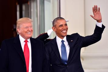 "Barack Obama & Donald Trump Battle For Title Of 2019's ""Most Admired Man"""