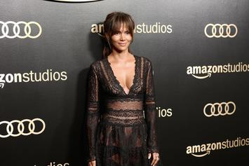 Halle Berry Starts New Year Off With A Cheeky Topless Photo