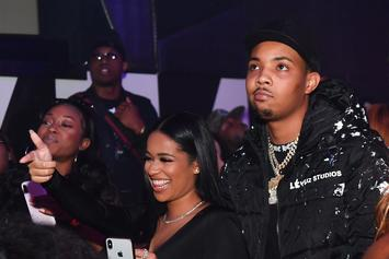 G Herbo Cannot Believe How Fine Taina Williams Looks In Plunging Neckline Dress