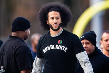 "Colin Kaepernick Calls US Airstrike In Baghdad An Act Of ""American Imperialism"""