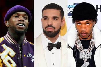 "Drake Trolled By Tory Lanez & Lil Baby Over Earrings: ""Don't Know How To Act"""